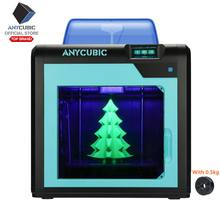 Anycubic 3D Printer 4Max Pro Desain Modular Presisi Tinggi Ukuran Desktop Impresora 3d Printer DIY Kit dengan Auto Power off(China)