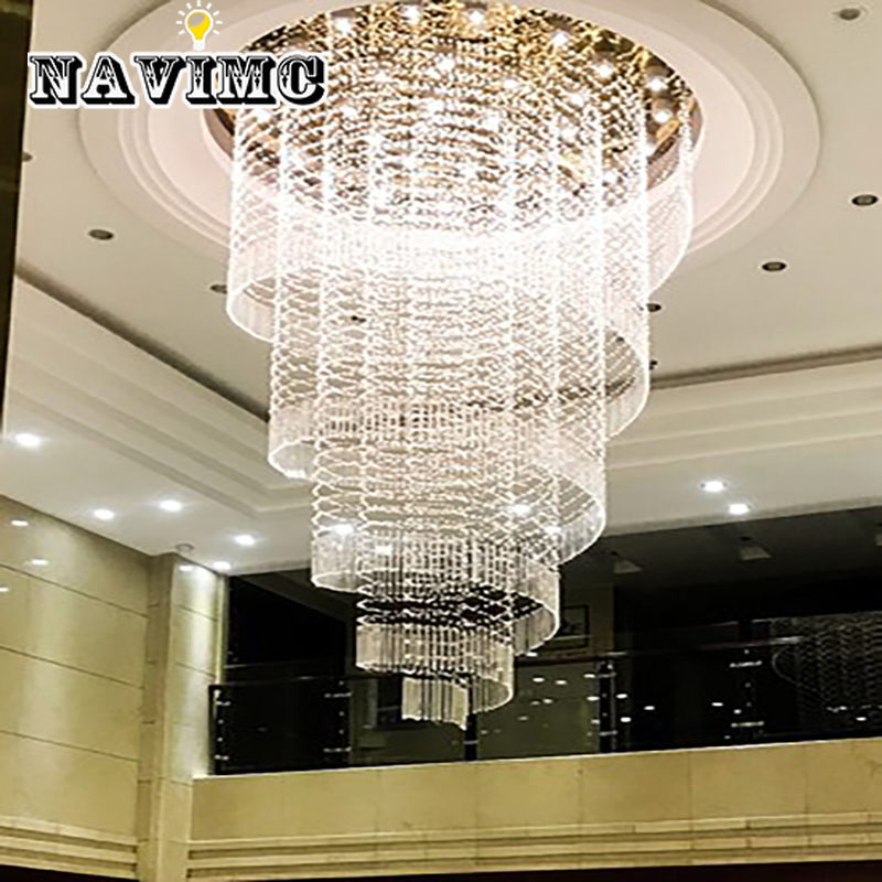 Curtain Type Led Crystal Chandelier