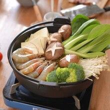 Japanese basket cast iron Sukiyaki hot pot old household omelet frying pan skilled non-costing health stew stewpan rice pie dish