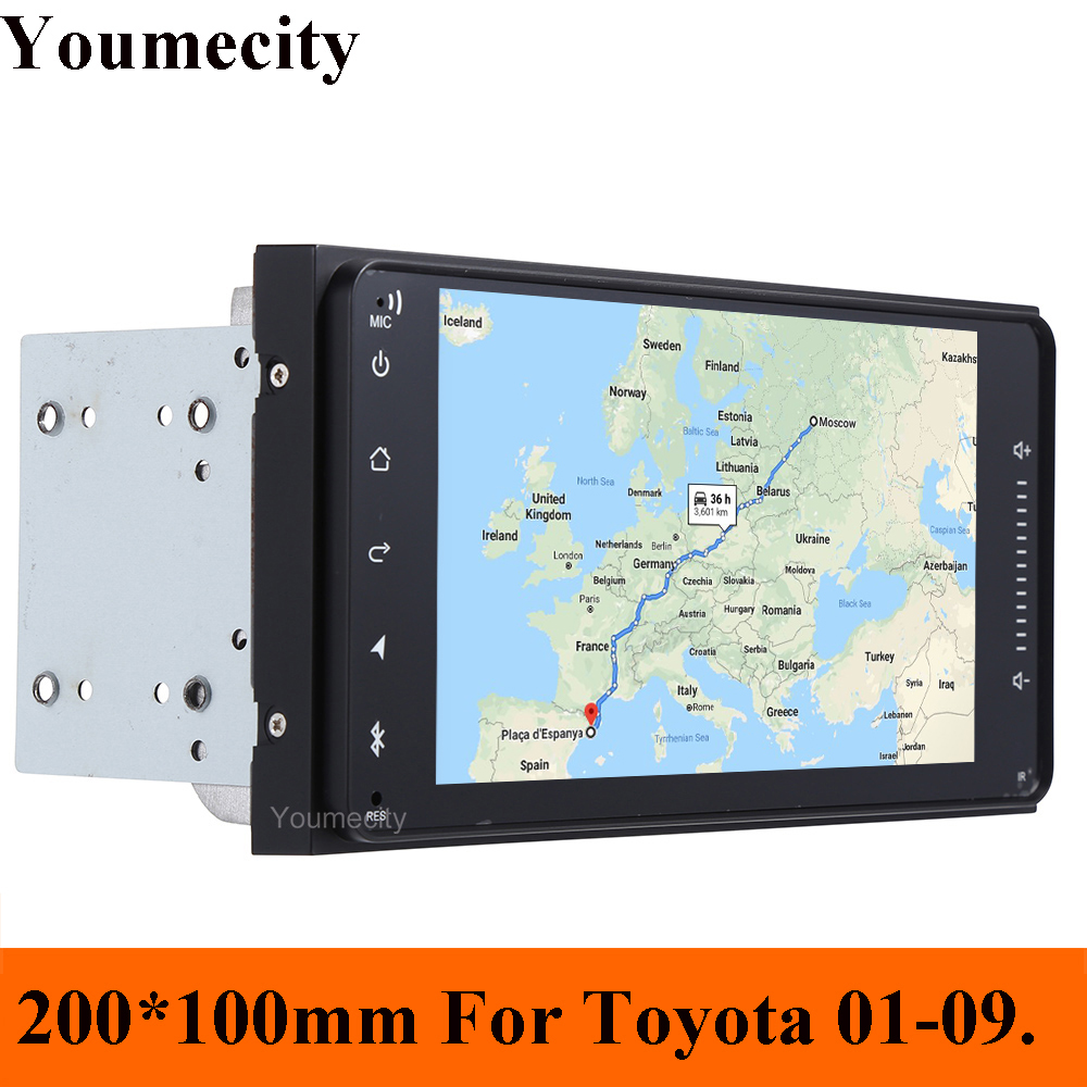 Youmecity Car Radio Stereo DVD Player for Toyota Avalon AVanza Celica Granvia Hiace Kluger Paseo Previa Prius Sienna Solara Wish-in Car Multimedia Player from Automobiles & Motorcycles    1