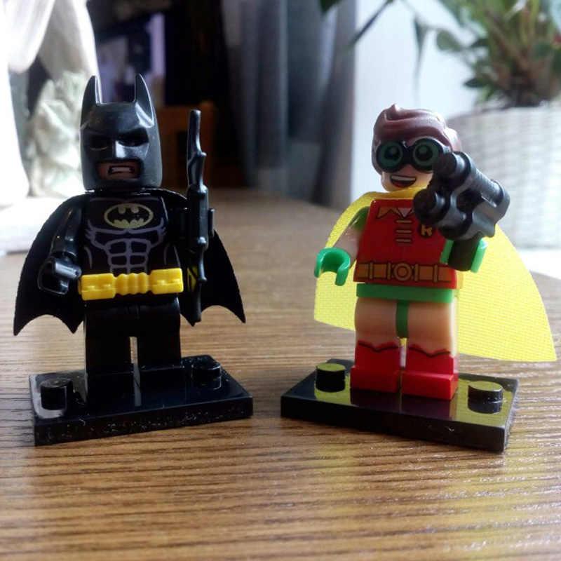 Đĩa Đơn Bán Mạc Phủ Samurai Batman Robin DC Siêu Anh Hùng Medol Hành Động S Giáo Dục Khối Xây Dựng Đồ Chơi Dành Cho Trẻ Em Quà Tặng