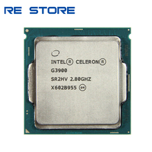Gebruikt Intel Celeron G3900 Processor 2Mb Cache 2.80Ghz Lga 1151 Dual Core Desktop Pc Cpu