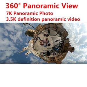 Image 3 - In Stock Xiaomi Mijia 360° Panoramic Camera 3.5K Video Recording Sphere Camera IP67 Rating WiFi Bluetooth Mini Sport Camcorder