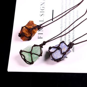 Macrame Stone Necklace Patterns