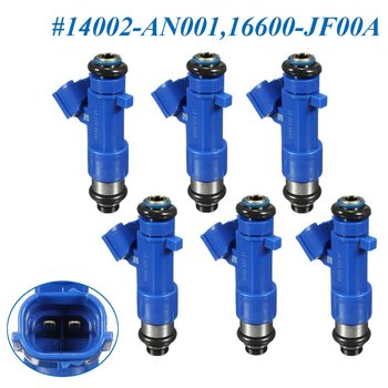 #14002-AN001 16600-JF00A Fuel Injector for Infiniti G37 for Nissan GTR 550cc 2009 2010 2011 2012 2013 2014 2015 2016  6PCS/SET