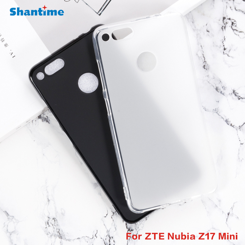 For ZTE <font><b>Nubia</b></font> <font><b>Z17</b></font> <font><b>Mini</b></font> Gel Pudding Silicone Phone Protective Back Shell For ZTE <font><b>Nubia</b></font> <font><b>Z17</b></font> <font><b>Mini</b></font> Soft TPU <font><b>Case</b></font> image