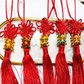 1Pc Glück 2021 Jahr von Ox Chinesische Gedenk Souvenir Geschenk Auto Tasche Anhänger Decor
