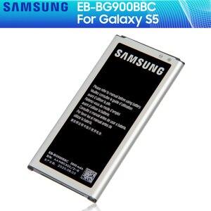 SAMSUNG Original Battery EB-BG900BBE EB-BG900BBC EB-BG900BBU For Samsung Galaxy S5 SM-G870A G900S/F/M/FD G9008V 9006V/W 2800mA