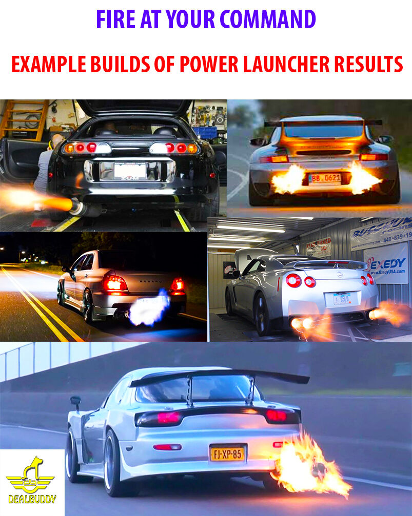 Racing Power Builder Type B Flame Kits Exhaust Ignition Rev Limiter Launch Control For Nissan SubaruToyota YC101502