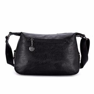 Image 4 - 럭셔리 핸드백 여성 가방 디자이너 2019 여성 부드러운 가죽 어깨 가방 sac 여성을위한 주요 crossbody 가방 플랩 가방 빈티지