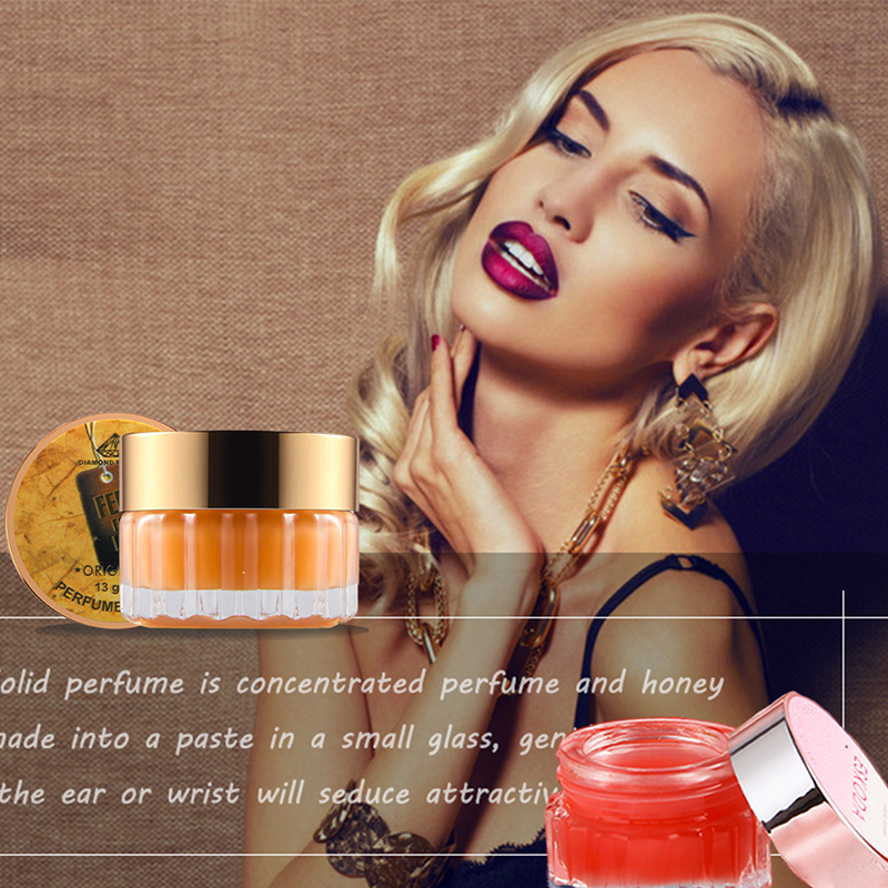 Natural Plants Solid Perfumes And Fragrances For Women Perfume Long Lasting Deodorant Perfumes Solid Fragrance Women Perfumes
