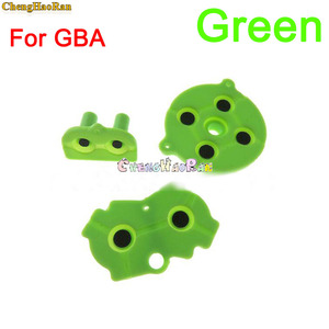 Image 4 - 8colors 1set D pad For GBA Colorful Rubber Conductive Buttons A B D pad for GameBoy Advance Silicone Start Select Keypad Dpad