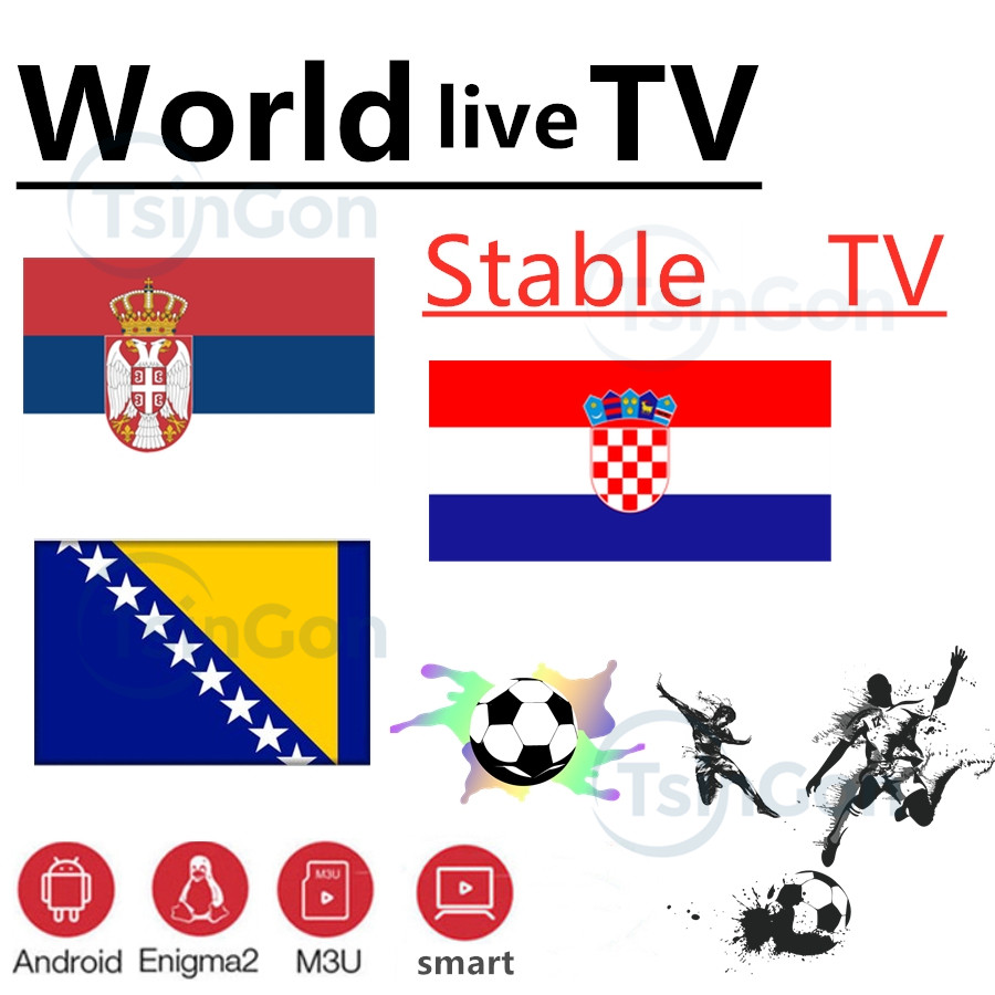 World IPTV Bosnia Croatia Serbia TV 7000+ Live  VOD Support Android M3u Enigma2   2000+Vod
