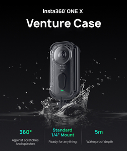 Image 3 - New Version Original Insta360 ONE X Venture Case 5m Diving Waterproof Housing Shell Protective Case for Insta360 Accessories