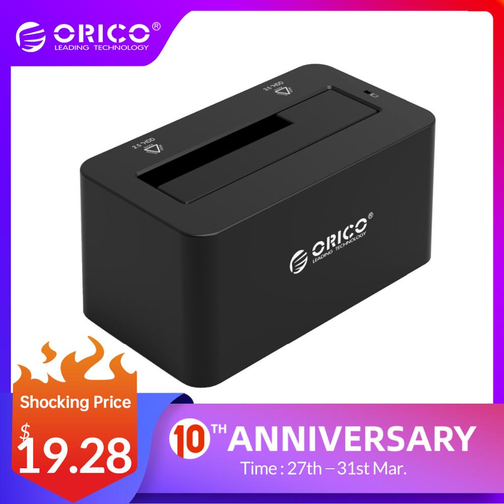ORICO HDD Case SATA  To USB 3.0  Hard Drive Docking Station 5Gbps Super Speed For 2.5''/ 3.5