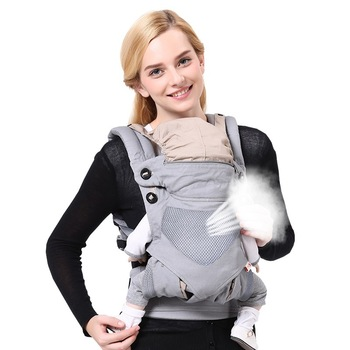 Breathable Ergonomic Baby Carrier Backpack Portable Infant Baby Carrier Kangaroo Hipseat Heaps Baby Sling Carrier Wrap цена 2017