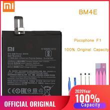 Оригинальный аккумулятор для телефона Pocophone F1, сменный аккумулятор Xiaomi Pocophone F1 BM4E, аккумуляторы Poco, аккумулятор Xiomi