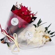 10PCS /Set Car Air Freshener Handmade Dry Flower Bouquet PVC Gift Box Air Conditioner Outlet Perfume Clip Car Fragrance Ornament