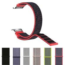 Fenix 6 macio laço de náilon prendedor pulseira 22mm ajuste rápido relógio banda cinta para garmin fenix 5/ 5 plus/forerunner935/instinto