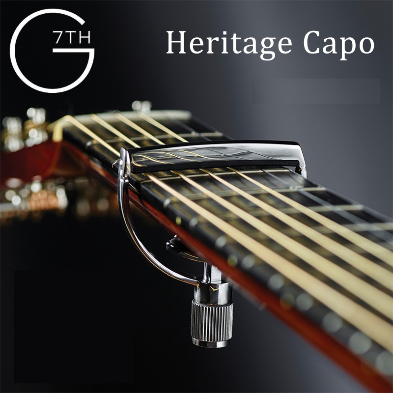G7th Heritage Guitar Capo With Yoke Style