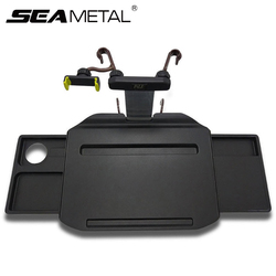 Car Holder Car Desk Coffee Holder Universal Car Steering Wheel Phone Holder Folding Laptop Computer Table Seat Auto Goods Tray