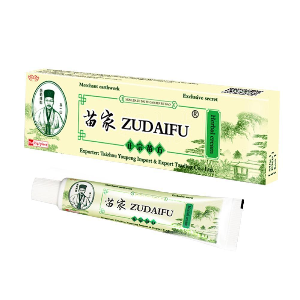 zudaifu psoriasis Cream Skin Care Psoriasis Ointment Dermatitis Eczematoid Eczema Treatment Ointment Cream Itching Relief image