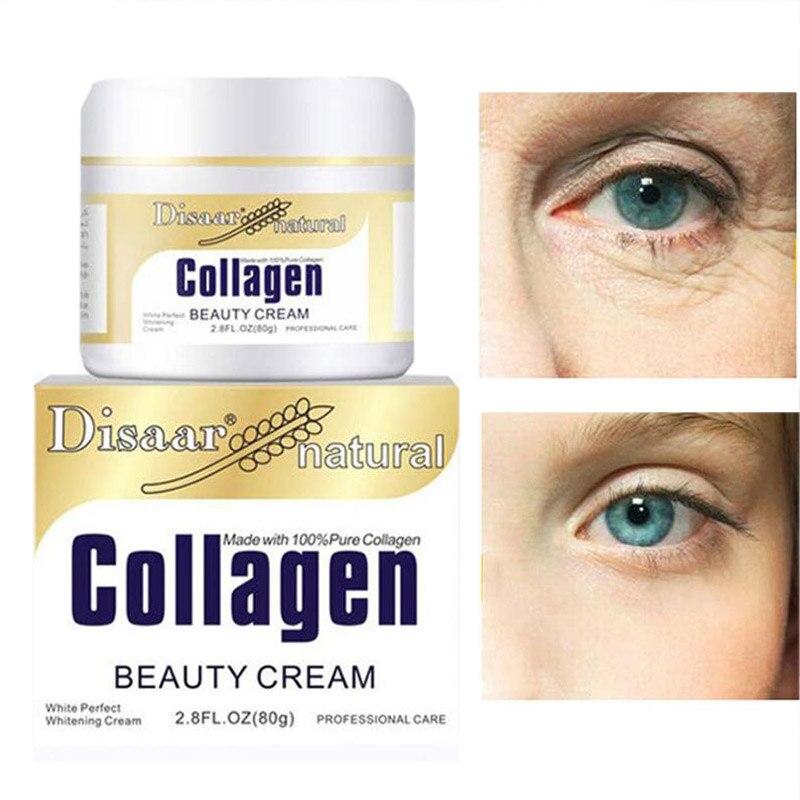 Collagen Power Lifting Cream 80g Firming Face Cream Skin Care Whitening Moisturizing Anti Wrinkle Korean Facial Cream