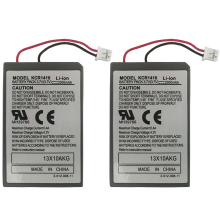 2Pcs/Lot 2000mAh battery For Sony PS4 PlayStatoin 4 Dualshock 4 V1 Wireless controller Rechargeable Batteries