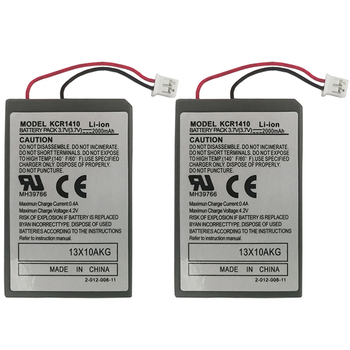 2Pcs/Lot 2000mAh battery For Sony PS4 PlayStatoin 4 Dualshock V1 Wireless controller Rechargeable Batteries