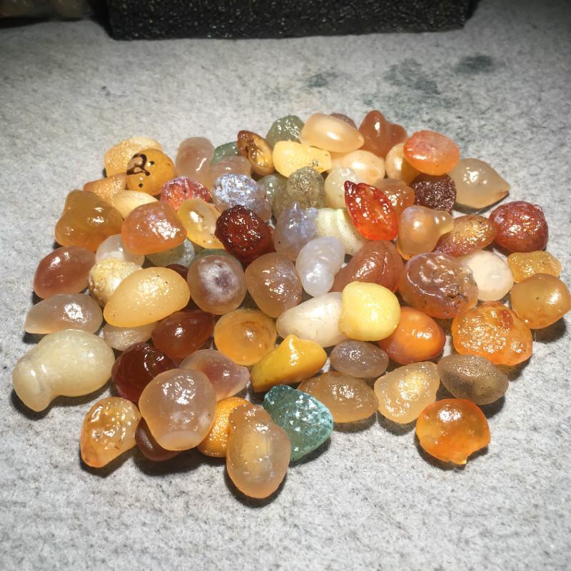 400g Alxa Gobi agate pierre naturelle Quartz cristaux pierres roche gravier dégringolade pierres minéraux pour Aquarium jardin décoration
