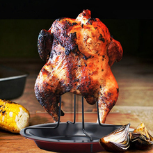 Rack Bowl Chicken-Roaster Barbecue-Grilling Bbq-Accessories-Tools Non-Stick Cooking