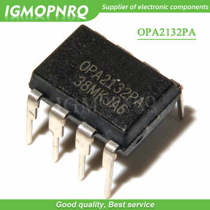 IC Chip Op Amp Double-Channel-Amplifier OPA2132PA Audio Original New 5PCS DIP-8 And