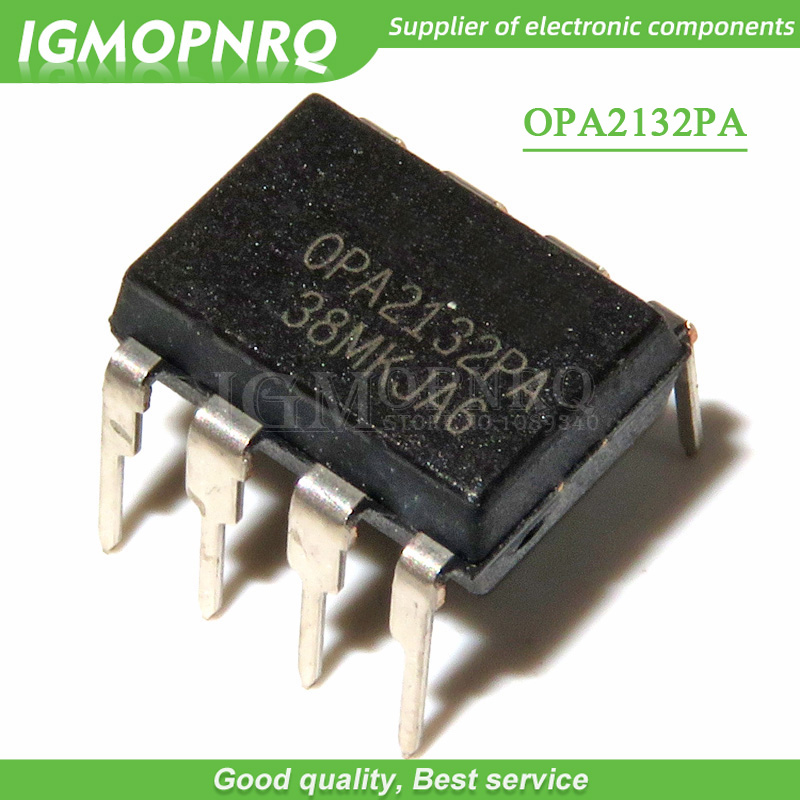 5PCS OPA2132PA OPA2134PA OPA2132 <font><b>OPA2134</b></font> DIP-8 audio op amp IC chip double channel amplifier new and original IC image