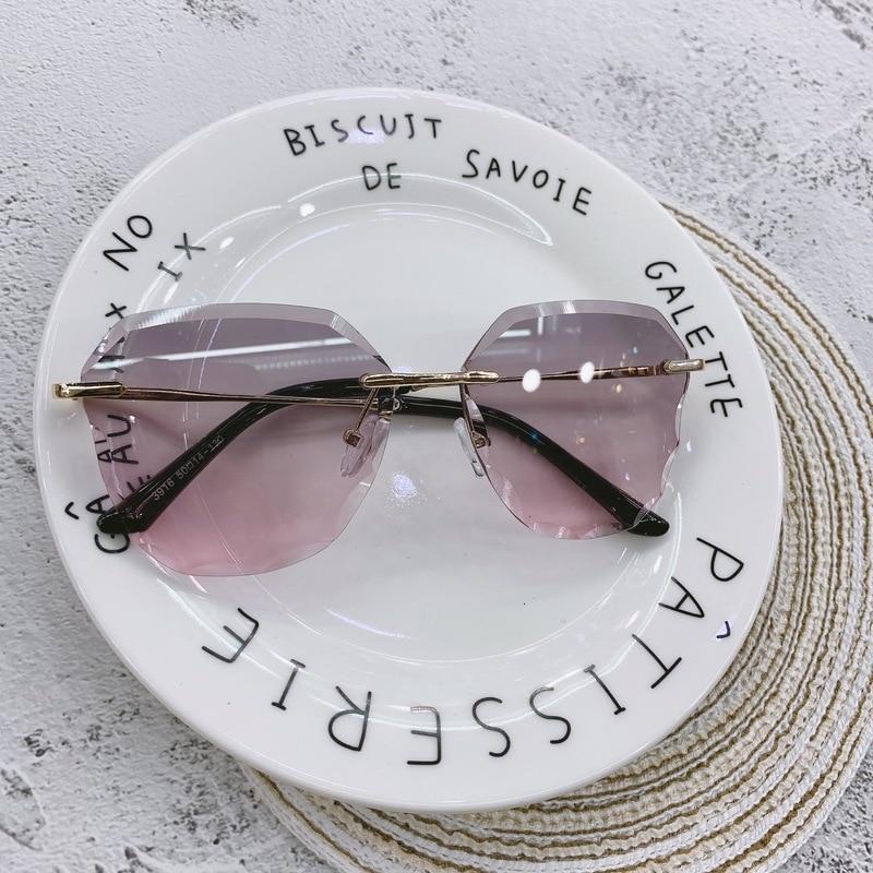 KOTTDO Fashion Design Children Sunglasses Frameless Gradient Kids Sun Glasses Pink Glasses Girls Boys Lentes De Sol Mujer