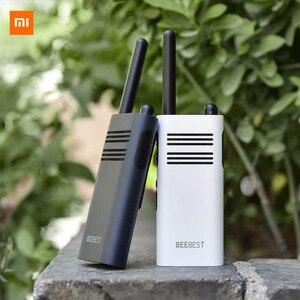 Image 2 - Original Xiaomi Beebest Smart Walkie talkie 1 5 km call 16 channel anti jamming Long standby handheld smart interphone