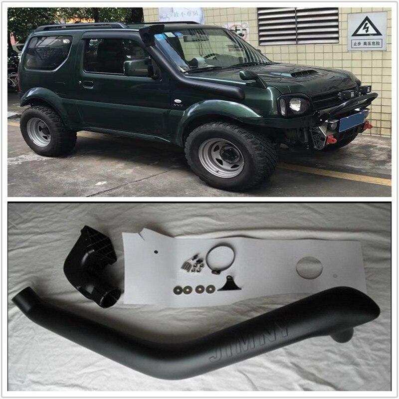 4x4 LLDPE комплекты для подводного плавания внешние автозапчасти дополнительная воздухозаборная трубка подходит для SUZUKI JIMNY 1997-2015 модель 1.3L бе...