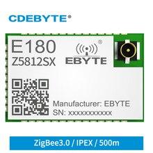 TLSR8258 ZigBee3.0 Module Wireless SOC SMD DIY MCU 2.4GHz 2uA Long Range E180-Z5812SX Ewelink IPEX 500m 12dBm Transmitter RFID
