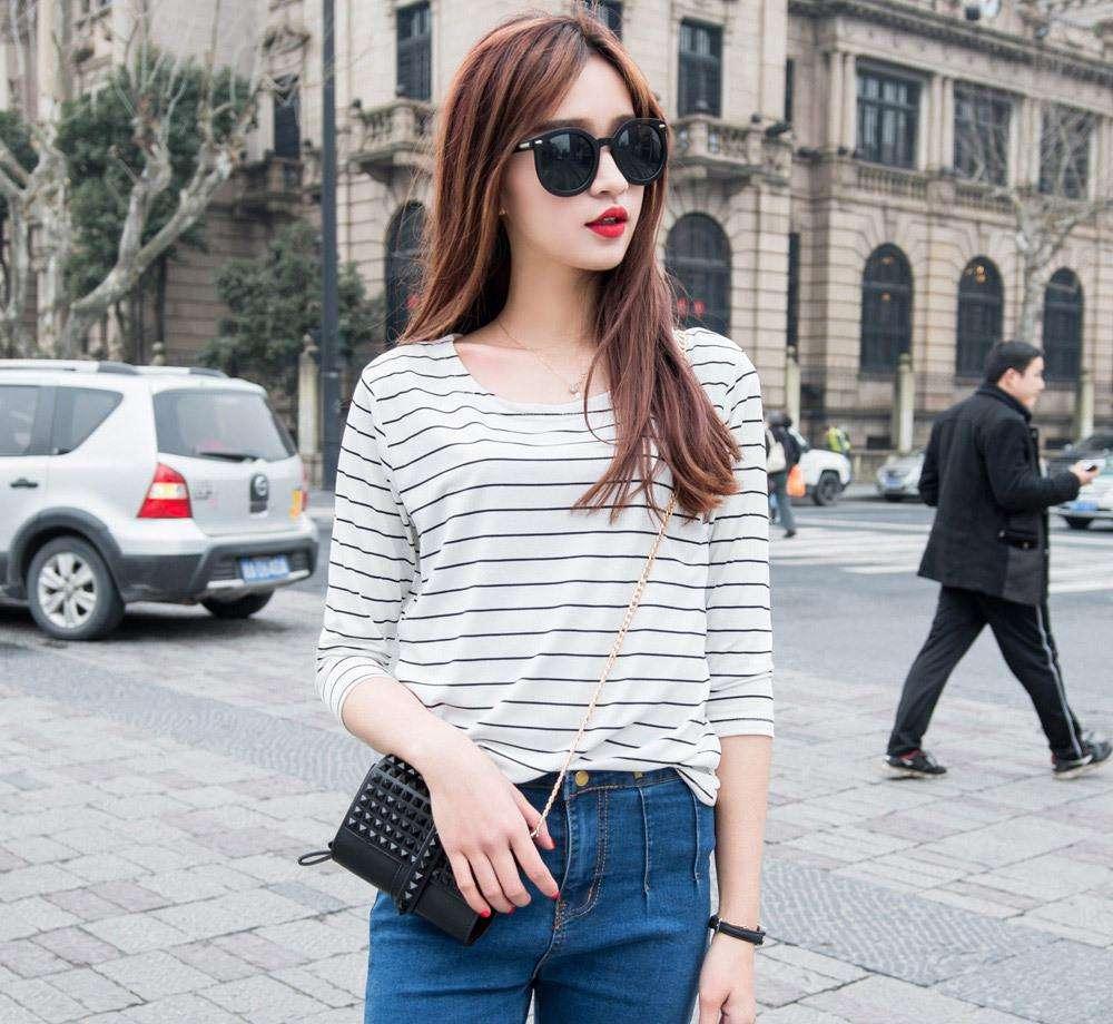 2020 Women   Short Purpel Sleeve Shirt Top Garment