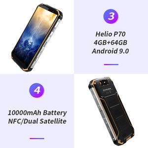 Image 4 - Blackview teléfono inteligente BV9500 Plus, teléfono móvil con procesador Helio P70, Octa Core, batería de 10000mAh, pantalla FHD de 5,7 pulgadas, 4GB RAM, 64GB rom, so Android 9,0, resistente al agua IP68