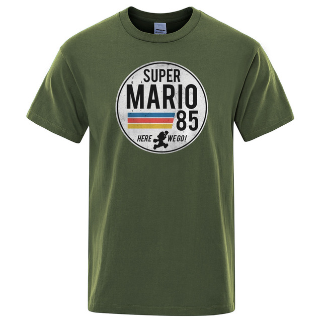 Super Maria Retro T-shirt 8
