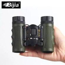 цены на BIJIA Bark4 telescope 12x25 Mini Day Light Telescope Professional Binocular Jumelles Travel Folding Binoculars Living Waterproof  в интернет-магазинах