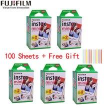 10-100 листов Fuji Fujifilm instax mini 9 пленок с белым краем 3 дюймовая широкая пленка для мгновенной камеры mini 8 9 7s 25 50s 90 фотобумага