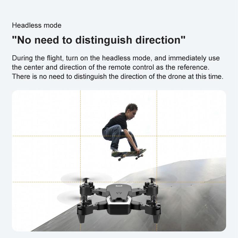altura rc helicoptero gesto dobravel selfie quadcopter dron vs m69 presente 04