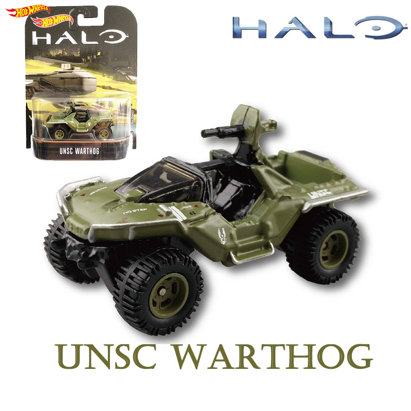 Model-Collection-Toys Chariots Game Halo WARTHOG UNSC Hot-Wheels Classic Boy DMC55 Birthday-Gift