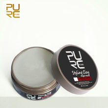 Hair Clay High Hold Medium Shine Hair Wax Matte Finished Hair Styling Clay Daily Use Long Lasting Effect Pomade Hair Clay Mud(China)
