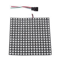 8*8,16*16,8*32 Pixels Board DC 5V WS2812 Digital Flexible LED Programmed Panel Screen Individually Addressable RGB Display Board pdp42u3 pdp4226 plasma digital board 40 dp4226 dib6x with 42v5 screen