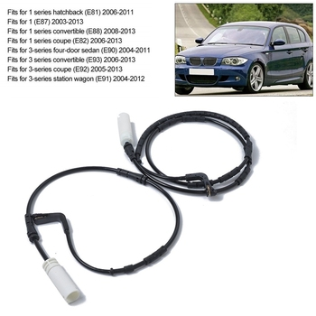 Avant et Arrière Voiture avertisseur d'usure des plaquettes de frein pour BMW E90 E91 E92 E93 1 3-Série 34356789439 34356789445