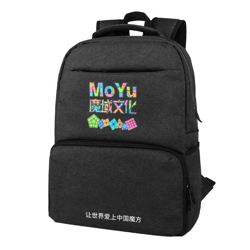 جديد MoYu مكعبات حقيبة الظهر لمكعبات بازل سحري حقيبة 2x2 3x3 4x4 5x5 6x6 7x7 8x8 9x9 10x10 سرعة مكعب المنافسة هدية كبيرة الأسود