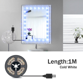 5M Vanity Mirror Lights LED Dressing Table Makeup Light USB 5V Cosmetic Lamp Hollywood Lighting LED Wall Lamp Flexible Lamp 1