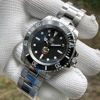 STEELDIVE 1954 Middle East Eagle Automatic Watch Men Mechanical Sapphire NH35 Diver Watch Automatic C3 Luminous Bezel 20ATM Dive
